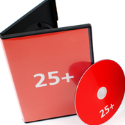 DVD dupliceren met zwarte dvd box en dvd inlay